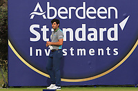 Adrian Otaegui (ESP) on the 14th during Round 3 of the Aberdeen Standard Investments Scottish Open 2019 at The Renaissance Club, North Berwick, Scotland on Saturday 13th July 2019.<br /> Picture:  Thos Caffrey / Golffile<br /> <br /> All photos usage must carry mandatory copyright credit (© Golffile | Thos Caffrey)