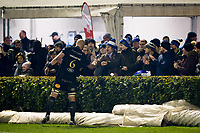 Matt Garvey of Bath Rugby thanks the travelling support after the match. European Rugby Champions Cup match, between Benetton Rugby and Bath Rugby on January 20, 2018 at the Municipal Stadium of Monigo in Treviso, Italy. Photo by: Patrick Khachfe / Onside Images