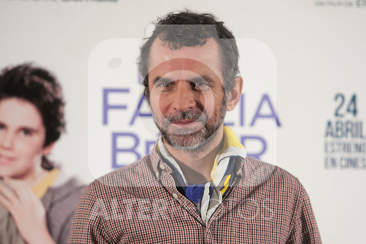 French director Eric Lartigau during `La familia Belier´ (La famille Belier) film presentation in Madrid, Spain. April 13, 2015. (ALTERPHOTOS/Victor Blanco)