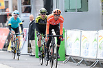 Laurens Ten Dam (NED) CCC Team crosses the finish line at the end of Stage 2 of the Criterium du Dauphine 2019, running 180km from Mauriac to Craponne-sur-Arzon, France. 9th June 2019<br /> Picture: Colin Flockton | Cyclefile<br /> All photos usage must carry mandatory copyright credit (© Cyclefile | Colin Flockton)