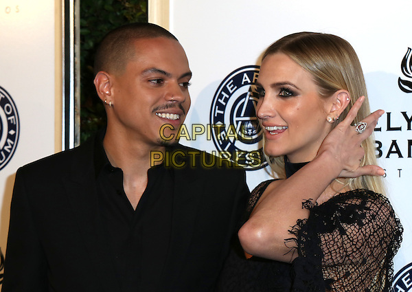 LOS ANGELES, CA - JANUARY 7: Evan Ross and Ashlee Simpson at the The Art Of Elysium Tenth Annual Celebration 'Heaven' Charity Gala at Red Studios i Los Angeles, California on January 7, 2017. <br /> CAP/MPI/PA<br /> &copy;PA/MPI/Capital Pictures