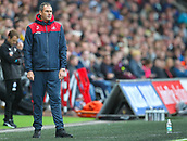 10th September 2017, Liberty Stadium, Swansea, Wales; EPL Premier League football, Swansea versus Newcastle United; Paul Clement manager of Swansea City in action during the match