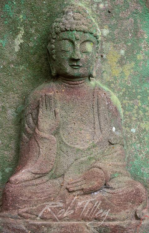 Asia, Japan, Nagasaki, Hirado, Saikyoji Temple, Buddha Statue