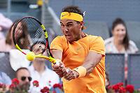 Spanish Rafa Nadal during Mutua Madrid Open 2018 at Caja Magica in Madrid, Spain. May 11, 2018. (ALTERPHOTOS/Borja B.Hojas) /NORTEPHOTOMEXICO