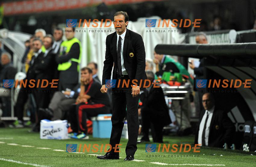 "Massimiliano ALLEGRI (Milan).Milano 21/9/2011 Stadio ""Giuseppe Meazza"".Serie A 2011/2012.Football Calcio Milan Vs Udinese.Foto Insidefoto Alessandro Sabattini."