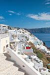 Whitewash houses of Oia, Santorini, Greece