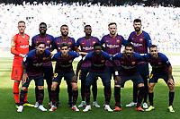 F.C. Barcelona during the Spanish football of La Liga Santander, match between Real Sociedad and FC Barcelona at the Anoeta stadium, in San Sebastian, Spain, on Saturday, September 15, 2018.