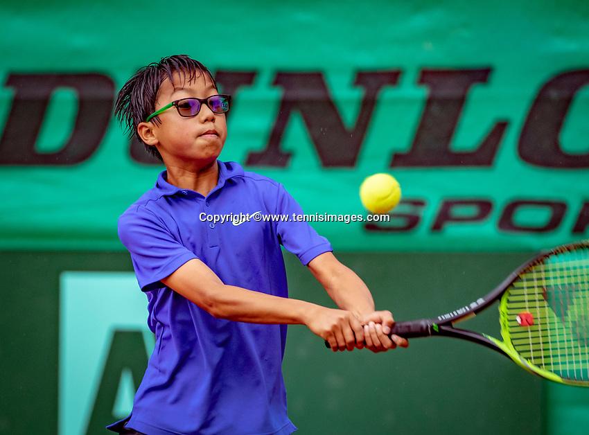 Hilversum, Netherlands, August 8, 2018, National Junior Championships, NJK, Jessy Tan (NED)<br /> Photo: Tennisimages/Henk Koster
