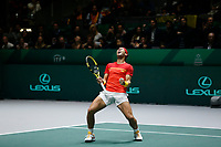 Rafael Nadal of Spain celebs <br /> La Caja Magica on November 23, 2019 in Madrid, Spain. (ALTERPHOTOS/Manu R.B.)<br /> Tennis Davis Cup 2019 <br /> Coppa Davis FINALE<br /> Foto Alterphotos / Insidefoto <br /> ITALY ONLY