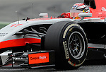 Marussia's Jules Bianchi drives during a race at the Circuit de Catalunya on May 11, 2014. <br /> PHOTOCALL3000/PD