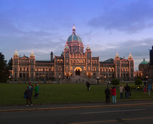 Parliament, Victoria, BC