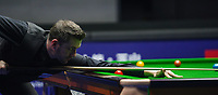 31st October 2019, Yushan, Jiangxi Province, China; Mark Selby of England competes during the round of 16 match against his compatriot Stuart Bingham at 2019 Snooker World Open in Yushan