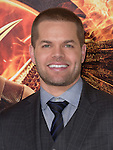 Wes Chatham  at The  Los Angeles Premiere of The Hunger Games: Mockingjay - Part 1 held at  Nokia Theatre L.A. Live in Los Angeles, California on November 17,2014                                                                               © 2014 Hollywood Press Agency