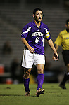 Western Illinois's Kosuke Kimura, of Japan, on Tuesday, October 11th, 2005 at Duke University's Koskinen Stadium in Durham, North Carolina. The Duke University Blue Devils defeated the Western Illinois Leathernecks 2-0 during an NCAA Division I Men's Soccer game.