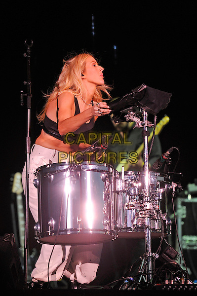 LONDON, ENGLAND - SEPTEMBER 14: Ellie Goulding performing at The Jaguar Land Rover Invictus Games Closing Concert at Queen Elizabeth Olympic Park on September 14, 2014 in London, England.<br /> CAP/MAR<br /> &copy; Martin Harris/Capital Pictures