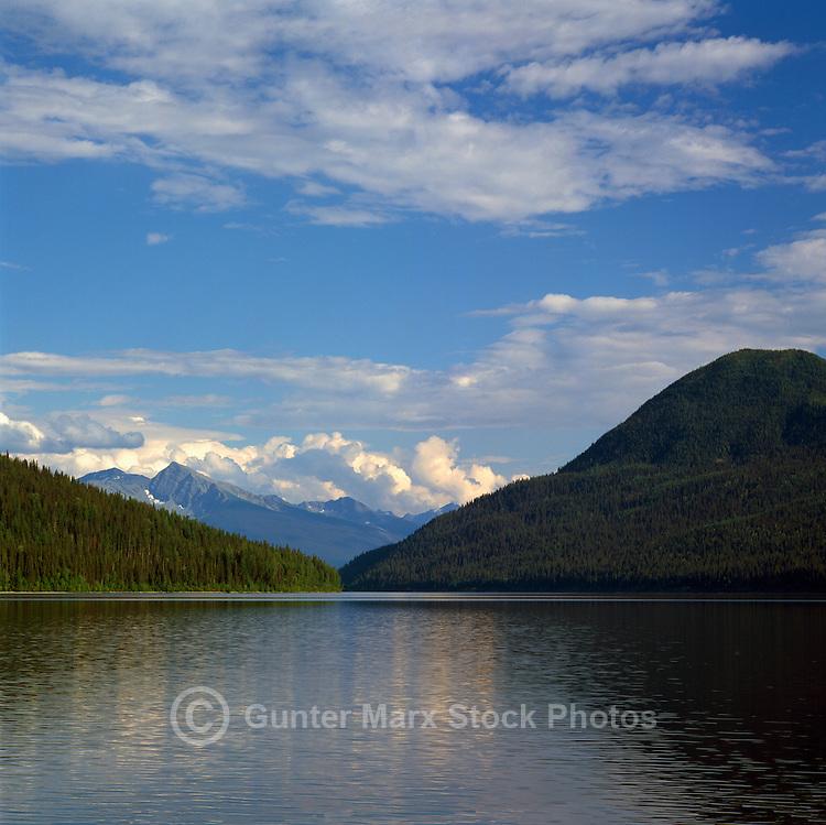 Bowron Lake, Bowron Lake Provincial Park, BC, Cariboo Region of British Columbia, Canada