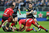 Horacio Agulla of Bath Rugby in possession. European Rugby Champions Cup match, between Bath Rugby and RC Toulon on January 23, 2016 at the Recreation Ground in Bath, England. Photo by: Patrick Khachfe / Onside Images