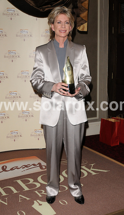 **ALL ROUND PICTURES FROM SOLARPIX.COM**.**WORLDWIDE SYNDICATION RIGHTS**.Award winners and presenters inside the Galaxy British Book Awards 2008. Held at the Grosvenor, Park Lane, Mayfair, London. April 09 2008...This pic: Patricia Cornwell..JOB REF: 6123 SSD     DATE: 09_04_2008.**MUST CREDIT SOLARPIX.COM OR DOUBLE FEE WILL BE CHARGED* *UNDER NO CIRCUMSTANCES IS THIS IMAGE TO BE REPRODUCED FOR ANY ONLINE EDITION WITHOUT PRIOR PERMISSION*