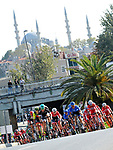 Action from Stage 6 of the Presidential Cycling Tour of Turkey 2017 running 143.7km from Istanbul to Istanbul, Turkey. 15/10/2017.<br /> Picture: Brian Hodes/VeloImages | Cyclefile<br /> <br /> <br /> All photos usage must carry mandatory copyright credit (&copy; Cyclefile | Brian Hodes/VeloImages)