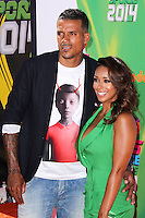 WESTWOOD, LOS ANGELES, CA, USA - JULY 17: Matt Barnes, Gloria Govan at the Nickelodeon Kids' Choice Sports Awards 2014 held at UCLA's Pauley Pavilion on July 17, 2014 in Westwood, Los Angeles, California, United States. (Photo by Xavier Collin/Celebrity Monitor)
