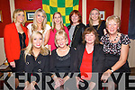 HURLING: Ladies who attende the Kerry Hurling All-Stars 2013 at Parkers Bar, Kilflynn on Saturday night, Front l-r: Laura Lynch, Rita Goulding, Helen Boyle and Angela O'Sullivan (Ballyduff). Back l-r: Maura Walsh (Lixnaw), Catherine Collins (KIlmoyley), Frieda Leahy (Causeway), Kay O'Carroll (Ballyduff) and Carol Dineen (Ardfert).