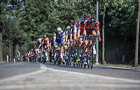 Team BMC setting the pace for the peloton<br /> <br /> 12th Eneco Tour 2016 (UCI World Tour)<br /> Stage 6: Riemst › Lanaken (185km)