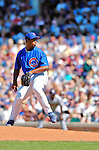 2 July 2005: Jerome Williams, pitcher for the Chicago Cubs, on the mound against the Washington Nationals. The Nationals defeated the Cubs 4-2 in front of 40,488 at Wrigley Field in Chicago, IL. Mandatory Photo Credit: Ed Wolfstein