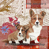 Isabella, REALISTIC ANIMALS, REALISTISCHE TIERE, ANIMALES REALISTICOS, paintings+++++,ITKE066163S-L,#a#, EVERYDAY ,dogs ,collage