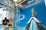 The ''Disney Cinderella Platinum Christmas Tree'' made of platinum on display at the Ginza Tanaka jewelry store in Ginza, on November 19, 2015, Tokyo, Japan. This year's tree is decorated with Cinderella movie characters and includes a 3 carat diamond on Cinderella's high heel. The tree is 2.5m in height and weighs approximately 9kg and is valued at approximately 100,000,000 JPY (809,667.44 USD). (Photo by Rodrigo Reyes Marin/AFLO)