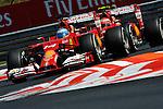 Fernando Alonso (ESP),  Scuderia Ferrari - Kimi Raikkonen (FIN), Scuderia Ferrari<br />  Foto © nph / Mathis