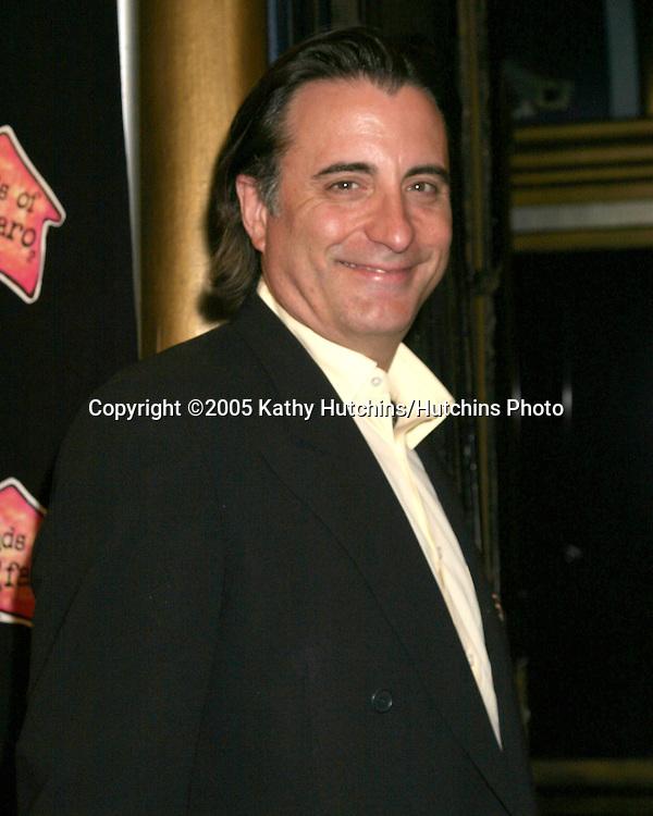Andy Garcia.Friends of El Faro Benefit.Henry Fonda Theater.Hollywood, California.May 13, 2005 .©2005 Kathy Hutchins / Hutchins Photo