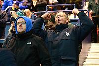 Preston North End fans react<br /> <br /> Photographer Richard Martin-Roberts/CameraSport<br /> <br /> The EFL Sky Bet Championship - Preston North End v Blackburn Rovers - Saturday 24th November 2018 - Deepdale Stadium - Preston<br /> <br /> World Copyright © 2018 CameraSport. All rights reserved. 43 Linden Ave. Countesthorpe. Leicester. England. LE8 5PG - Tel: +44 (0) 116 277 4147 - admin@camerasport.com - www.camerasport.com