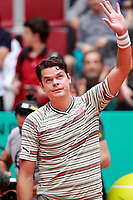 Milos Raonic, Canada, during Madrid Open Tennis 2018 match. May 7, 2018.(ALTERPHOTOS/Acero) /NortePhoto.com