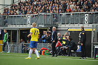 VOETBAL: LEEUWARDEN: 26-10-2014, Canbuurstadion, Cambuur - Feyenoord, uitslag 0-1, ©foto Martin de Jong