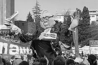 - Roma, manifestazione del PCI, Partito Comunista Italiano, contro il governo di Bettino Craxi (Marzo 1984)<br /> <br /> - Rome, demonstration of PCI, Italian Communist Party, against the government of Bettino Craxi (Mars 1984)