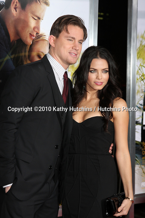 "Channing Tatum & Wife Jenna Dewan.arriving at the ""Dear John"" Premiere.Grauman's Chinese Theater.Los Angeles, CA.February 1, 2010.©2010 Kathy Hutchins / Hutchins Photo...."