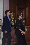 Isabel Preysler and Tamara Falco visit San Isidro funeral home following the death of Miguel Boyer in Madrid, Spain. September 29, 2014. (ALTERPHOTOS/Victor Blanco)