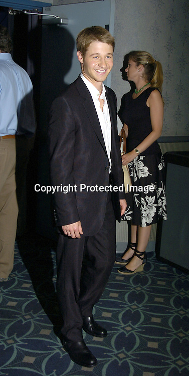 """Benjamin McKenzie ..at the New York Premier of """"Junebug"""" on August 1, 2005..at the Loews 19th Street Theatre. ..Photo by Robin Platzer, Twin Images"""