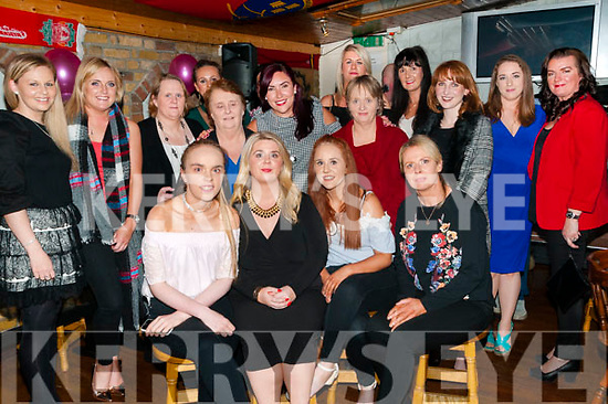 Hen Party Geraldine Enright, Glenoe, Listowel, second from left front on her hen party at Tankers Bar, Listowel on Saturday night last.