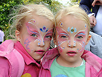 Cara and Millie Collier from Clogherhead pictured at the Heritage and Harvest festival at An Grianan. Photo: www.pressphotos.ie