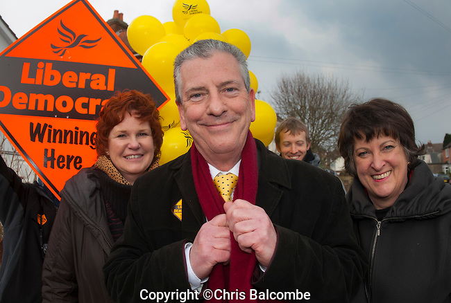 Sunday Times Commission: EASTLEIGH BY-ELECTION campaigning today Saturday 23rd Feb.<br />