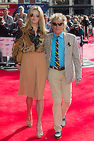 Rod Stewart and Penny Lancaster arriving for the Princes Trust Awards, at the Odeon Leicester Square, London. 10/03/2015 Picture by: Dave Norton / Featureflash