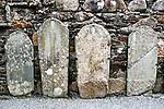 Glendalough Tombstones