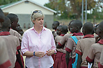Loreto Sister Orla Treacy is principal of the Loreto Girls' Secondary School in Rumbek, South Sudan. The school is run by the Institute for the Blessed Virgin Mary--the Loreto Sisters--of Ireland.
