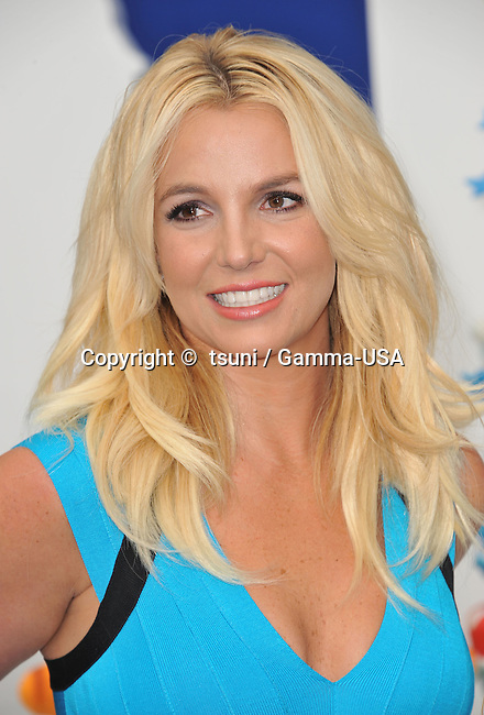 Britney Spears  at the Smurfs 2 Premiere at the Westwood Village Theatre in Los Angeles.
