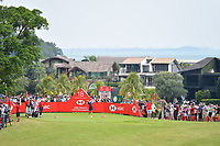 SINGAPORE - MARCH 02: Jodi Ewart Shadoff of England on the 18th tee during the third round of the HSBC Women's World Championship 2019 at Sentosa Golf Club - Tanjong Course, Singapore on March 02, 2019.<br /> .<br /> .<br /> .<br /> (Photo by: Naratip Golf Srisupab/SEALs Sports Images)<br /> .<br /> Any image use must include a mandatory credit line adjacent to the content which should read: Naratip Golf Srisupab/SEALs Sports Images