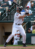 July 14, 2003:  Rob Bowen of the Red Wings, Class-AAA affiliate of the Minnesota Twins, during a International League game at Frontier Field in Rochester, NY.  Photo by:  Mike Janes/Four Seam Images