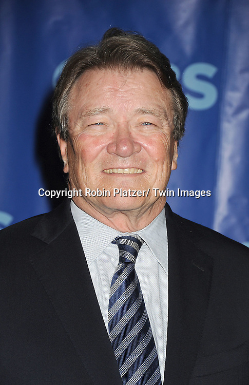 Steve Kroft attending The CBS Upfront announcement of the Prime Time 2011-2012 Season on May 18, 2011 at Damrosch Park in  Lincoln Center in New York City.