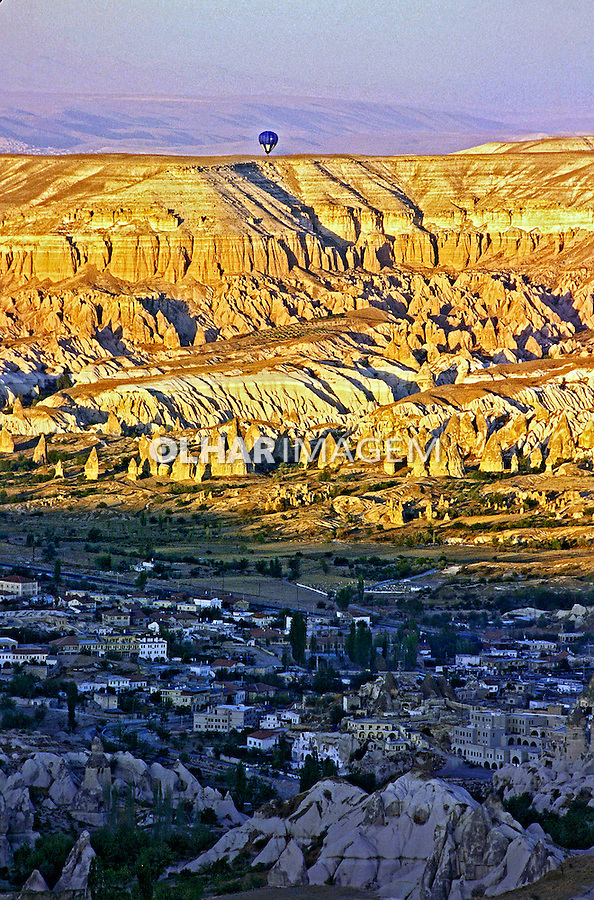 Formações rochosas em Goreme, Capadócia. Turquia. 1995. Foto de João Caldas