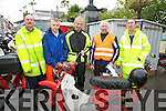 Taking part in the Honda 50 Run in aid of The Cahersiveen social Services on Saturday morning last were l-r; Pat O'Sullivan, Stephen O'Sullivan, Johnny O'Mahony, Chris Kelly & Jim Griffin.